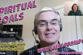 Spiritual Goals with Guest Donald Lee