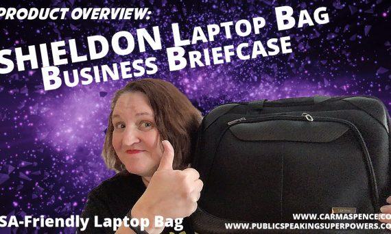 Product Overview: SHIELDON Laptop Bag Business Briefcase