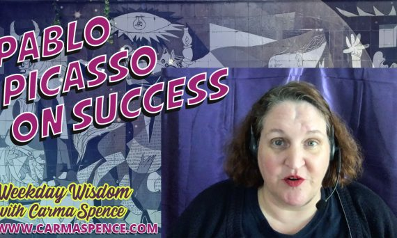 Pablo Picasso on Success