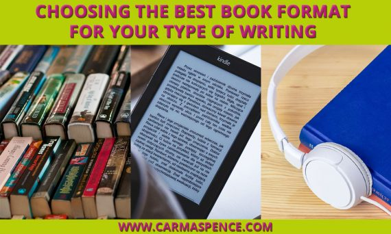 Choosing the Best Book Format for Your Type of Writing