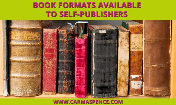 Book Formats Available to Self-Publishers