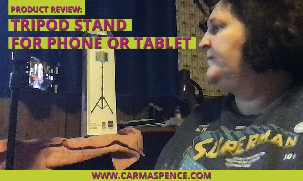 Product Review: Tripod Stand for Phone or Tablet