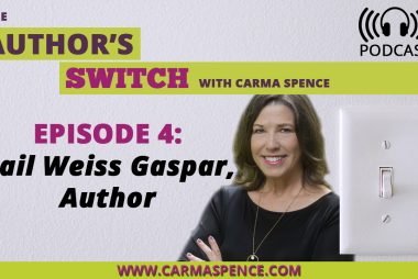 Gail Weiss Gaspar, Author [The Author's Switch Podcast]