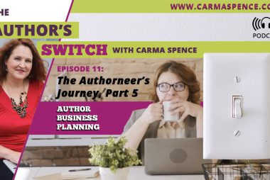 Author Business Planning [The Author's Switch Podcast]