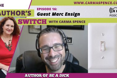 Guest Marc Ensign [The Author's Switch Podcast]