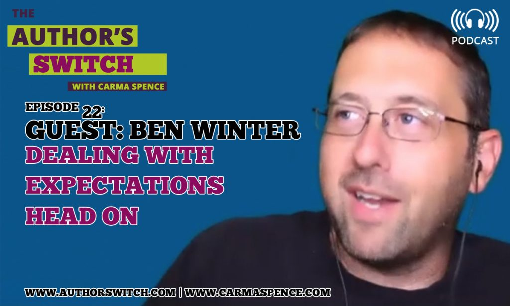 Ben Winter, Dealing with Expectations Head On